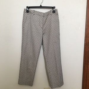 TORY BURCH ankle cropped pants